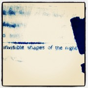 Invisible shapes...